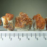Spessartite Garnet specimens from Tongbei Province, China