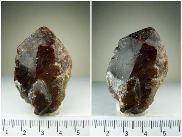 Vesuvianite crystal from Nandan Iron Mines, China 1